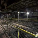 Top of coal bunkers