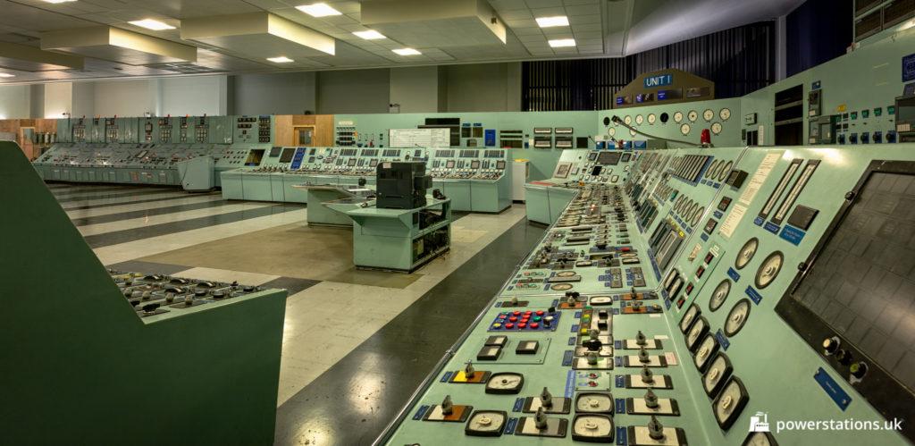 Unit 1 control panels