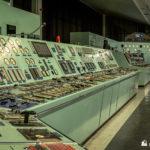 Unit 3 panels and unit 4 controls behindv