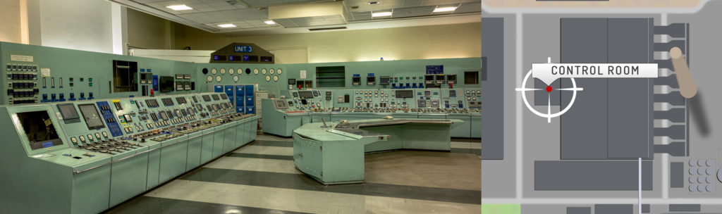 Eggborough Control Room