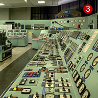Eggborough Power Station Control Room