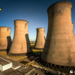 Some of the cooling towers