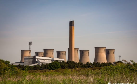 Eggborough Power Station viewed from the south