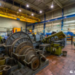 Machines in the workshop