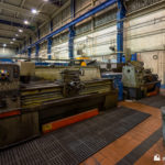Lathes in the workshop